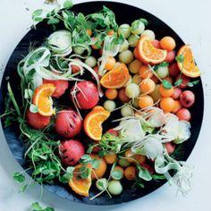 Melon+ball+salad