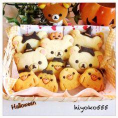 Pumpkin and sweet potato Halloween biscuits