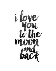 Digital Download Motivational Print I Love by LifeAndStylePrint