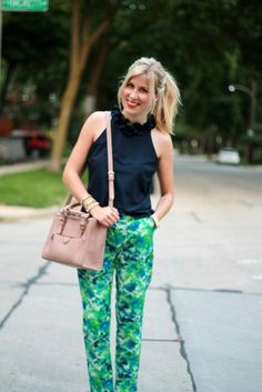 Take the chance and get out those crazy prints before it is too late AKA fall!  www.lovealwaysliv.com