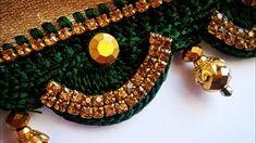 ಸೀರೆ ಕುಚ್ಚು tassels with beads designs tutorial for biginners.learn with me Saree Kuchu New Designs, Saree Tassels Designs, Good Morning Messages, Crochet Designs, Design Tutorials, Beaded Bracelets, Make It Yourself, Bridal, Beads