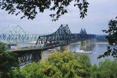 Image Detail for - Mississippi River, Vicksburg, Mississippi, USA
