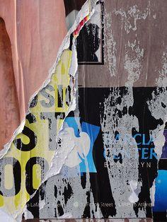 Peeling poster by Kelley Albert