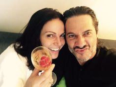 Lana and Fred in Paris. FLAN FOREVER