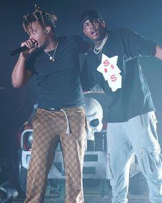 Listen to every Juice WRLD track @ Iomoio Arte Hip Hop, Hip Hop Art, Air Fryer Recipes, Salsa, Lil Skies, Rap Wallpaper, Lil Yachty, Evil Twin, Chance The Rapper