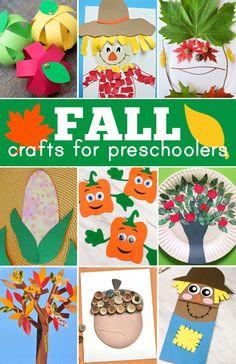 Acorn Crafts, Apple Crafts, K Crafts, Leaf Crafts, Pumpkin Crafts, Fall Preschool Activities, Preschool Art Projects, Toddler Preschool, October Preschool Crafts