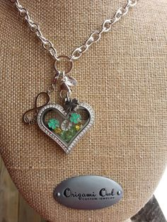 Origami Owl St. Patrick's day locket.  Click on the pic to order yours today.