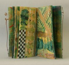 Laura Wait Garden Gate Painted book