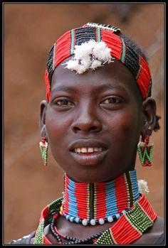 Africa | Hamer beauty.  Omo Valley, Ethiopia | © Henk Bogaard