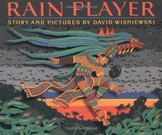 Rain Player by David Wisniewski, http://www.amazon.com/dp/0395720834/ref=cm_sw_r_pi_dp_8Sduqb156GMPX
