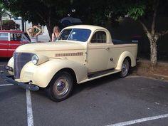 1939 Holdens Australia Chev Coupe Ute.