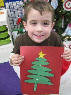 Christmas kindergarten crafts & activities 2