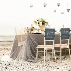 Beach Wedding Inspo #beachwedding #irishwedding #ireland #weddinginspiration #weddinginspo