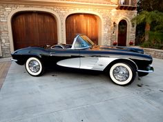 1961 Chevrolet Corvette 4-Speed Roadster with Hardtop and White Soft Top. Very clean, well maintained and it runs great! Available for purchase - $52,500 OBO Call 949-642-7447