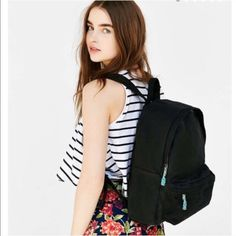 ❗️️️️LAST CHANCE Urban Outfitters black Backpack ❗️️️️LAST chance! Urban Outfitters BDG ️Black canvass backpack! NWT retails $49! See 4th photo for all details. I consider all strong offers so feel free to make an offer & it's yours! Snatch it up before someone else does! ASAP shipping! Extra 30% off on bundles! Suggested User  Urban Outfitters Bags Backpacks