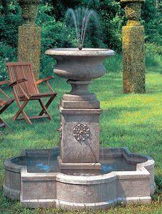 Outdoor Garden Water Fountains - Wall Flatwall Tier