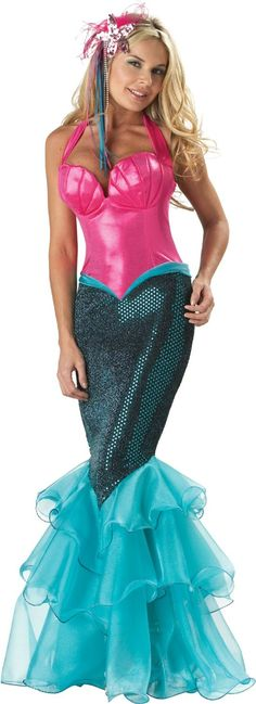 Beautiful Mermaid Fitted Costume, consept could easly be scalled down for little girl