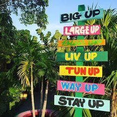 We all the way  #rockhousehotel #dancehallsigns #handpainted #signpainting #nursenegril #up #sign # - nursesigns