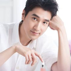 Mark Chao Handsome Asian Men, Chinese Candy, Scarlet Heart, Asian Guys, Eternal Love, Lee Min Ho, Sexy Men, At Least, Korean
