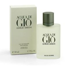 Acqua di Gio Giorgio Armani cologne - a fragrance for men 1996 Perfume Giorgio Armani, Armani Cologne, Men's Cologne, Creed Cologne, Perfume Bottles, Best Perfume For Men, Best Mens Cologne, Parfum Spray, Boyfriend Gifts