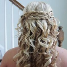 fancy hair...cute for weddings or other special occasions