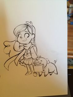 Mabel-WIP by *sharpie91 on deviantART
