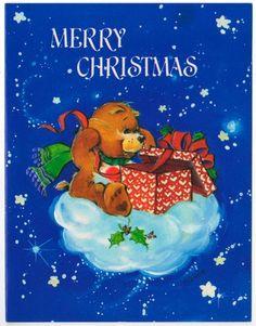 Vintage Care Bears Christmas
