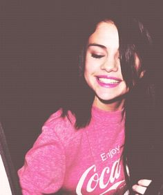 Selena Gomez's Cheesy Smile. Awww... How Adorable!