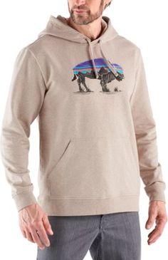 701235a118a Patagonia Men s Fitz Roy Bison Hoodie El Cap Khaki XXL Outdoor Wear
