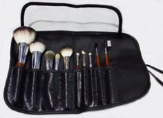 Make-up Brush Kit-eye shadow brush, blush brush, eyebrow comb,brushes for make up,Professional Quality by Salonwear. $29.95. Easier application to apply make up. Most popular and longest lasting brush set. Full professional brush set. Feels fabulous on the skin!. Softer than Sable. 10 wonderful brushes for every use from foundation, to shadow to blush and many more uses,complete with a case to keep them in!