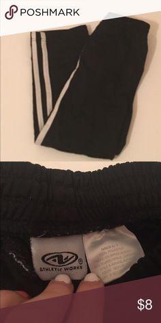 Boys Sweatpants Boys. Sweatpants. Black and White. Size 6/7. Athletic Works. Athletic Works Bottoms Sweatpants & Joggers