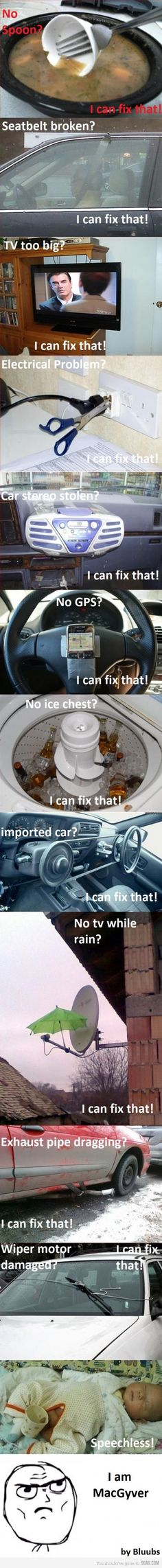 You can fix that!! Hahaha !