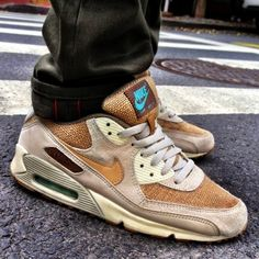 【$60 TO GET】2015 New Arrival Nike Air Max 90 Crepe Top Quality Material Limited Edtion Ones Hot Selling Models 308855-221 Men Size Euro 40-44 US 7-10