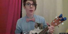 This Kitten Plays Ukulele