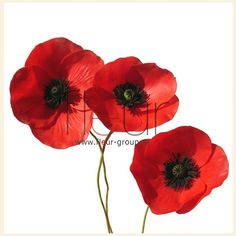 perfect tutorial for any poppy lovers , paper, fimo or what ever Amapola poppy tutorial