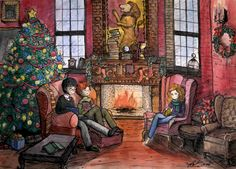 Gryffindor Common Room by thanhmajtran ...