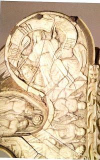 On the art of Renaissance and Ottoman Hungary...: In the name of St. George: Fifteenth-century Bone Saddles