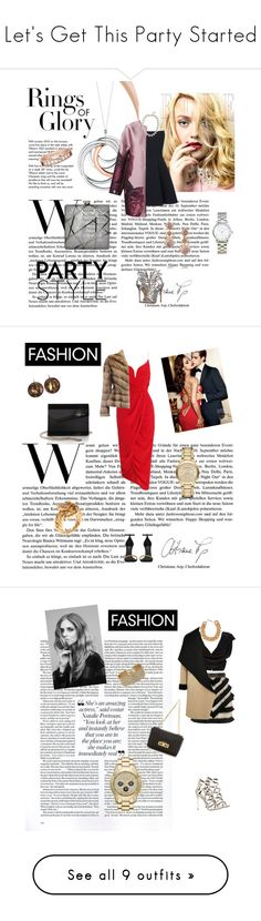 """""""Let's Get This Party Started"""" by elenzark ❤ liked on Polyvore featuring Tiffany & Co., Gareth Pugh, Giuseppe Zanotti, Reed Krakoff, Giambattista Valli, Larkspur & Hawk, J.Crew, Michael Kors, Marc by Marc Jacobs and Zimmermann"""