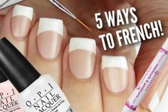different ways to get french manicure