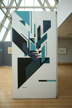 Seikon exhibited new work at Klub ŻAK in Gdansk Poland
