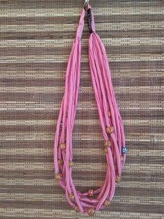 kalung kain kalung manik kalung pentol kalung pink