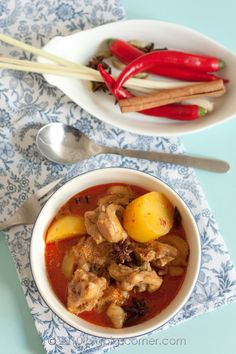 Malaysian curry chicken: need to learn how to make authentic Malaysian curry, then stir fry or cook it with any vegetables