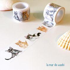 Washi Tape lindo gatito