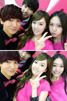 Yesung, Jessica, Krystal, Eunhyuk <3