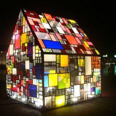 sculpture vitral