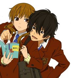 Haru And Shizuku from My Little Monster