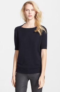 Burberry+Brit+Cashmere+&+Cotton+Sweater+available+at+#Nordstrom