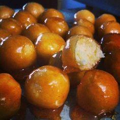 Bala de coco caramelizada - Receitas da Vovó