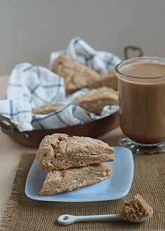 Brown sugar cinnamon scones