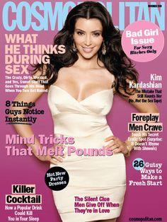 Cosmopolitan November 2009 #KimKardashian